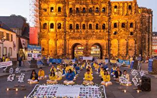中共送马克思雕像到德国 引发抗议