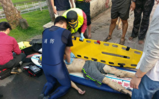 兩中國籍大學生台灣宜蘭溺水 一人命危