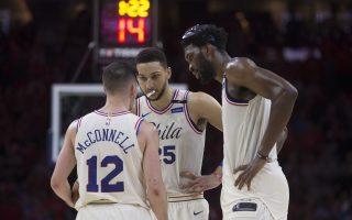 NBA76人拒絕被關門 系列賽扳回一城