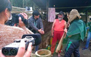 中正生拍記錄三興村小人物 鄒族打獵文化