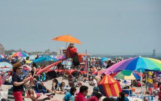紐約市八大海灘 27日起正式開放