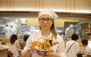 日本第一天丼进驻Big City    征服新竹人的味蕾