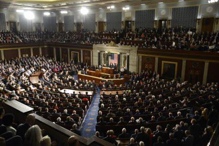 美國172名跨黨派聯邦眾議員致聯名信,呼籲世界衛生組織(WHO)應邀台灣參與WHA。圖為美國眾議院。