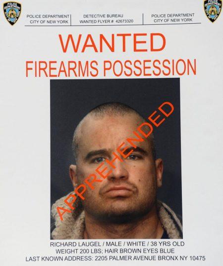 23日被警方逮捕的38歲的洛熱爾(Richard Laugel)。