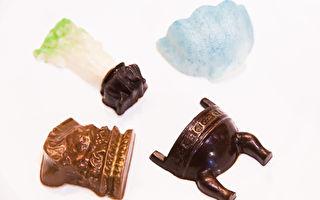 「朕准你巧克力」 台故宮伴手禮搶攻味蕾