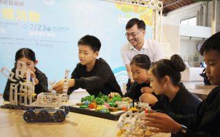 童玩节首办 童玩普拉斯工作坊  体验玩力学盖房子