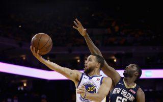 NBA勇士击退鹈鹕 连4年晋西冠决赛