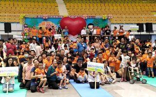 慢飛天使聯合運動會  550位親子歡聚斗六同樂