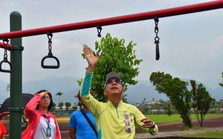 三星運動場遊戲區地墊全汰換 兒童安全有保障