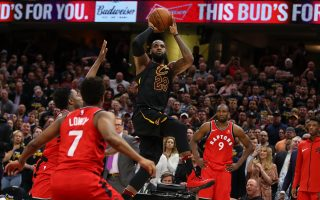 NBA詹姆斯擦板絕殺 騎士3度屠龍聽牌