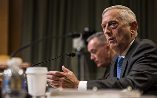 马提斯访中 将触及美中军方最敏感问题