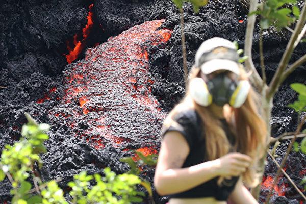 夏威夷火山威胁继续 或爆发百年一遇喷发