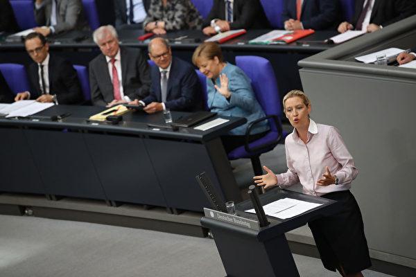 德国选项党向宪法法院状告默克尔