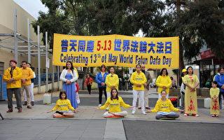 慶祝5.13法輪大法日 墨爾本華人區蓮花廣傳