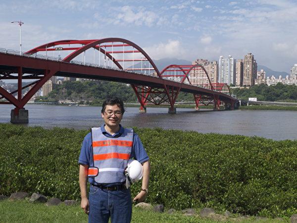 台湾国立中央大学土木系教授王仲宇。(王仲宇提供)