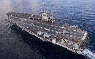 美战机从杜鲁门号航母升空 打击叙利亚IS