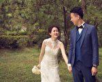 森林系婚纱超梦幻 六月新娘谱幸福进行曲