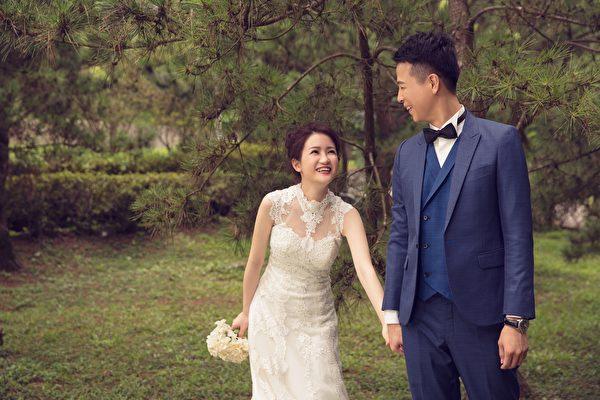 森林系婚紗超夢幻 六月新娘譜幸福進行曲