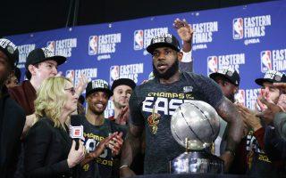 NBA/詹皇燃燒小宇宙 騎士連8年挺進總冠軍賽