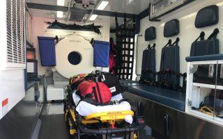 纽约医院再添两中风急救车 争取黄金救治时间
