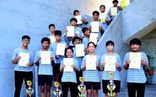 國際盃美容競賽 公東家政職群彩繪獲佳績