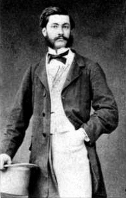 """有""""电影之父""""之称的法国人路易斯.普林斯。(公有领域)"""