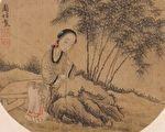 """三国时期有一位""""丑妻"""",颇为聪慧,即曹魏大臣许允的妻子阮氏。唐 周昉《仕女图》。(公有领域)"""