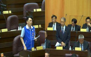 中坜山岭桃花园造林工程牛步化 议员要求检讨