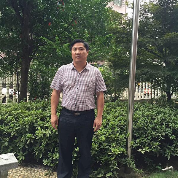 维权律师文东海。(大纪元)