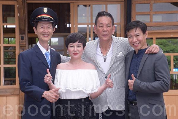 """台湾阿布电影公司、看见齐柏林基金会支持偶像剧""""一千个晚安""""戏剧发布记者会"""