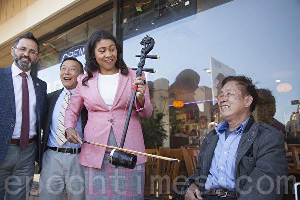 旧金山市长选举落幕 布里德胜出