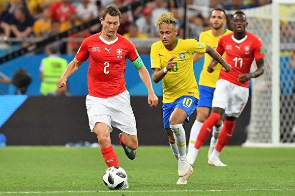 巴西1比1平瑞士 保持40年開局取勝紀錄被破
