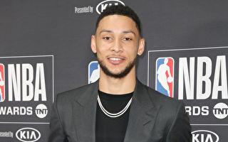 西蒙斯比下米契尔 获NBA新人王