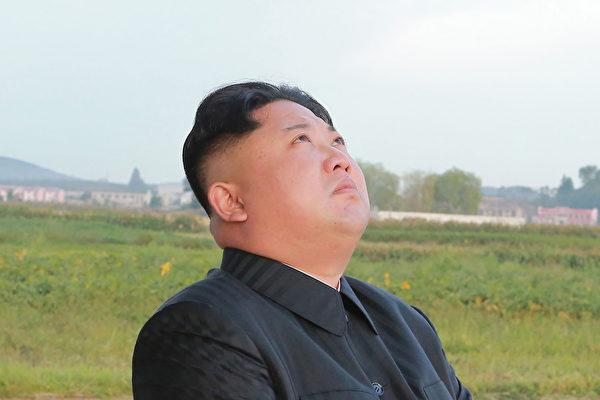 北韓領導階層現在流傳一段金正恩落淚的影片。(STR/AFP/Getty Images)