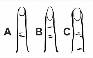 """【心理测验】留意过""""食指""""形状吗?看看你属于哪种性格"""