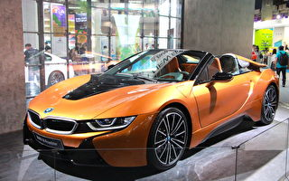 BMW i8千萬跑車 現身台北電腦展