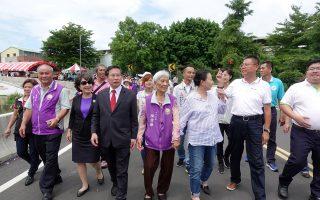 水上民生社区二座桥启用 提升嘉县市发展