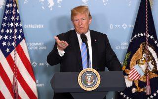 川普:贸易失衡每况愈下 美国拒当世界存钱罐