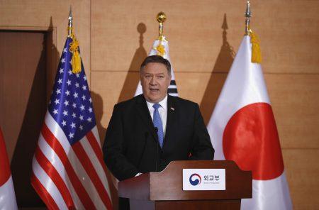 美国国务卿蓬佩奥强调,不会再出现过去那种,在北韩完全无核化之前就给予经济支援的错误了。