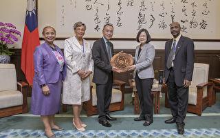 接見貝里斯國會議長 蔡:感謝支持台國際參與