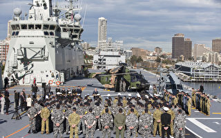 中共間諜船疑偽裝成漁船靠近澳大利亞軍艦