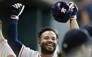 MLB/本季最快  阿土伯100安纪录达成