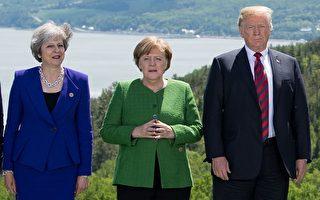 七国峰会 英美未进行双边会谈