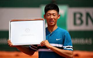 生涯第一座金杯 曾俊欣法网赢青少男单球王