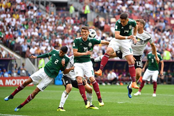 大冷門! 墨西哥1:0擊敗衛冕冠軍德國