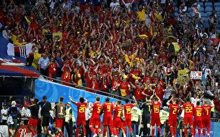 世界杯G组首轮 比利时3:0轻取巴拿马