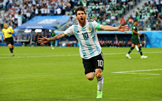D组末轮:2比1胜尼日利亚 阿根廷艰难出线