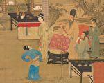 圖為明 唐寅畫《韓熙載夜宴圖》,台北國立故宮博物院藏。(公有領域)