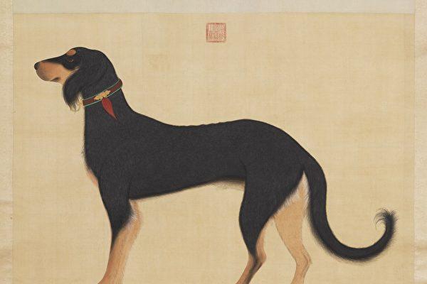 圖為《清院本獵犬》。(公有領域)