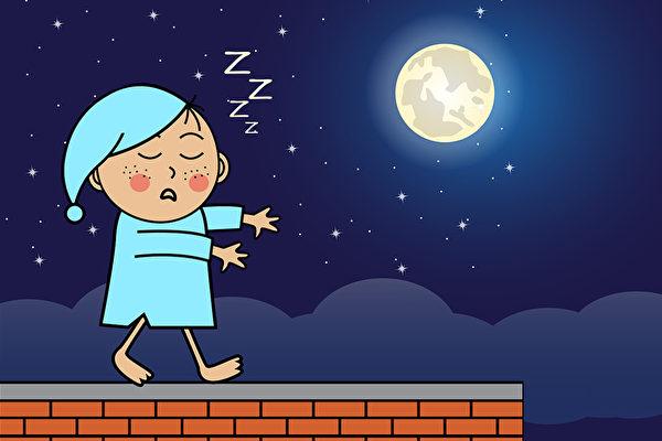 孩子为什么会梦游?5方法改善梦游、夜惊